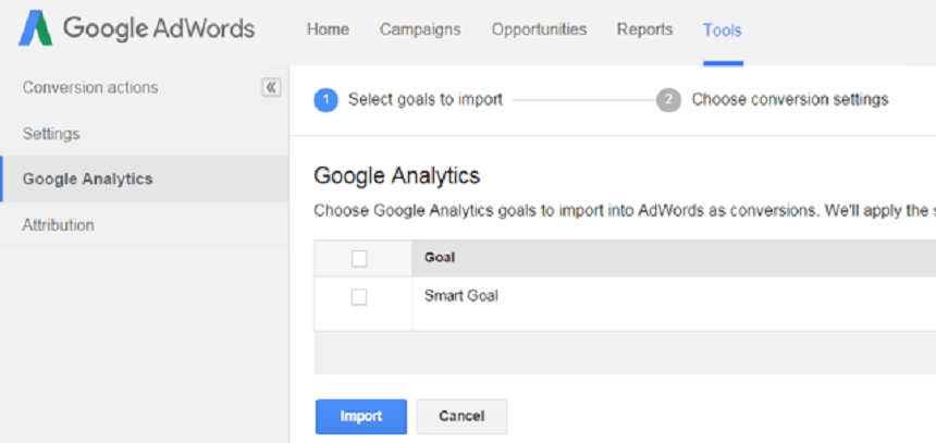 Analytics Smart Goals